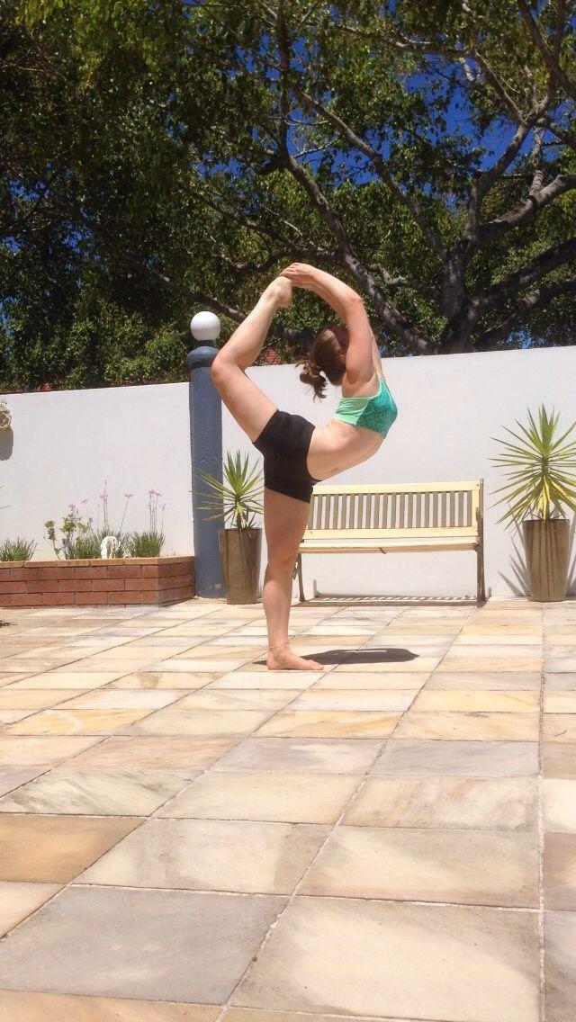 Full dancer pose