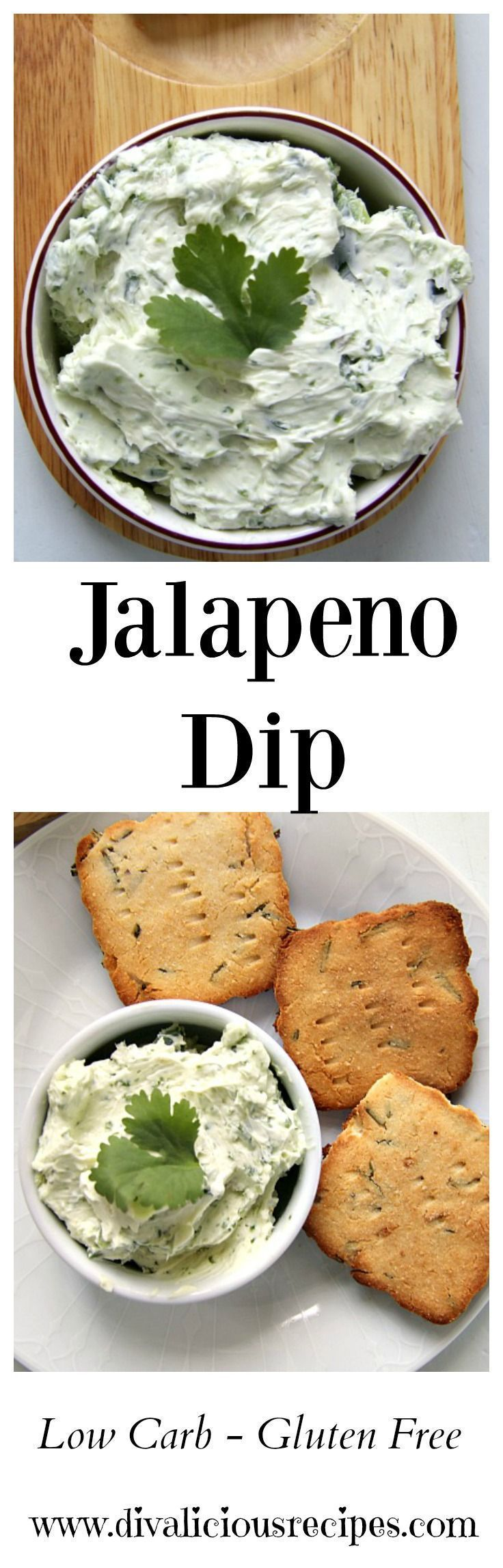 Jalapeno Cream Cheese Dip  Recipe: http://divaliciousrecipes.com/2017/05/01/jalapeno-cream-cheese-dip/