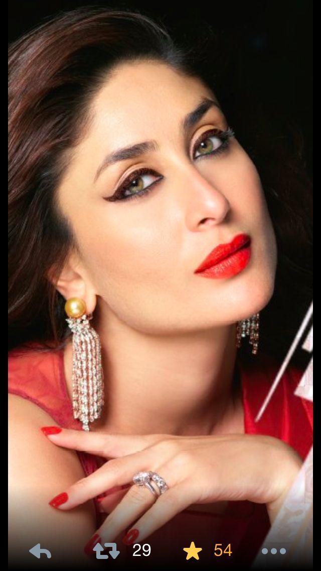 Red lipstick ! Kareena kapoor khan