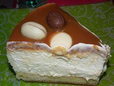Bavarois à la Poire et Caramel au Beurre salé (thermomix ou pas)