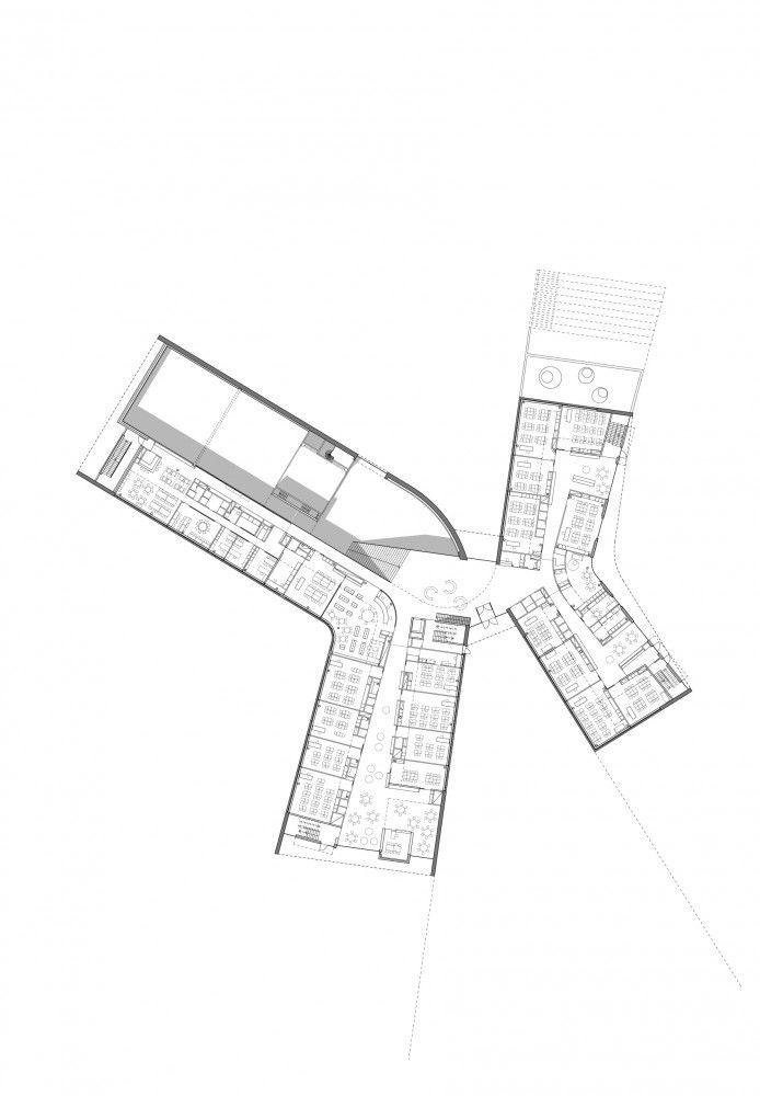 Kirkkojärvi Comprehensive School / Verstas Architects