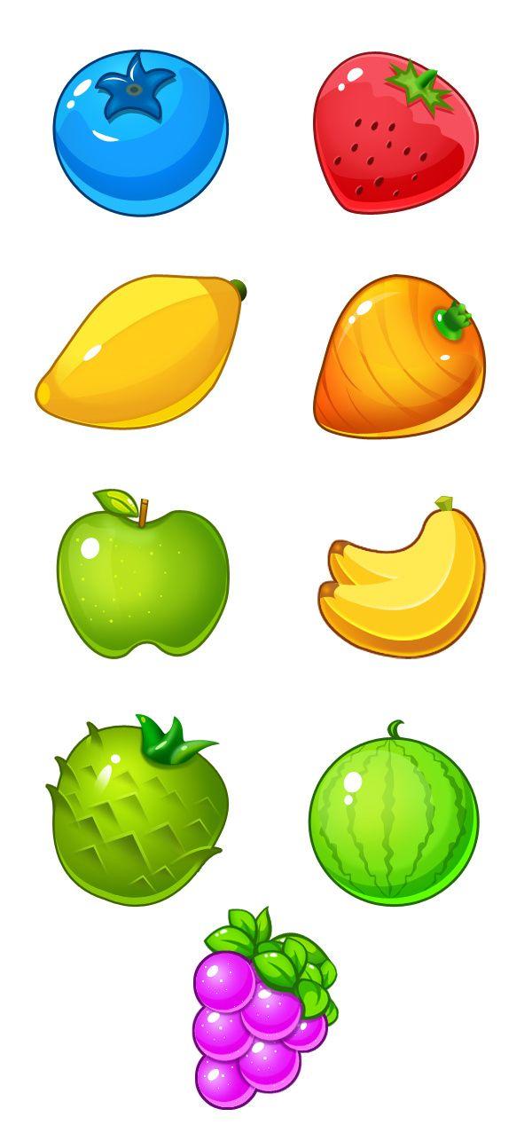 原创作品:水果元素·