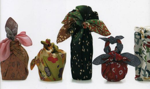 Furoshiki   Making these wrapping cloths - and using them for gifts - is in my immediate future!