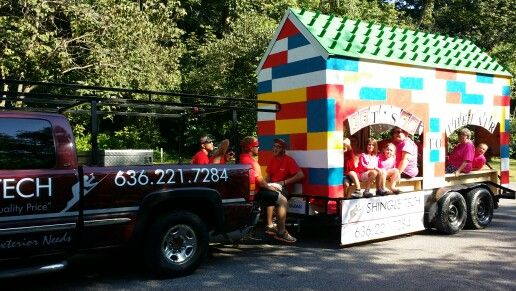 In parade | lego float | Lego decorations, Fourth of july ...