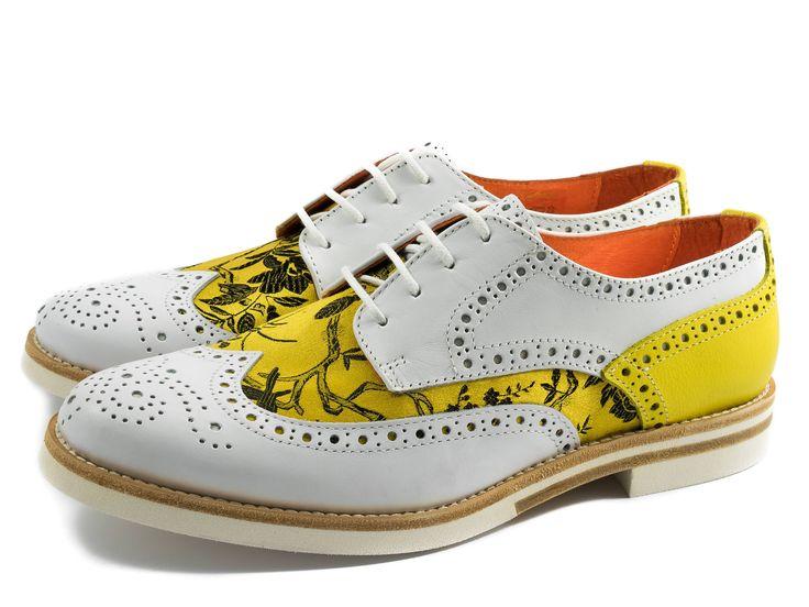 Oxford Shoes-Summer Shoes-Textile-Flat Shoes-Women
