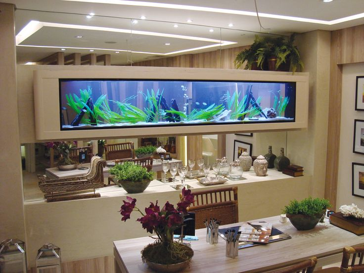 Cool Space With A Fish Tank