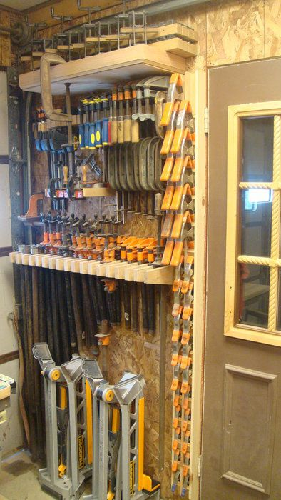 Tool Organization Is Everything In My Shop. Having Only X X I Have To Use  Every Available Inch Of Wall Space To Maximize Accessability.