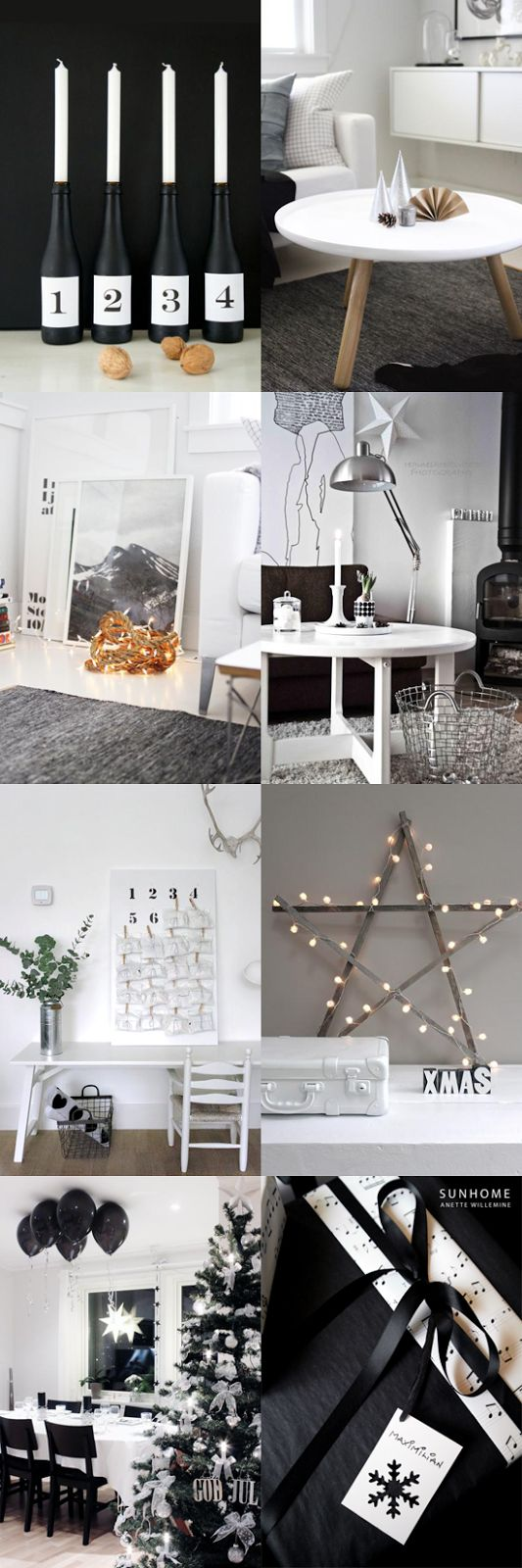 STYLIZIMO BLOG: Black & White Christmasl