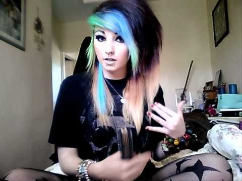 "How I get Big ""Scene"" Hair xx i am going to do this!!!!!!!!!!!!!"