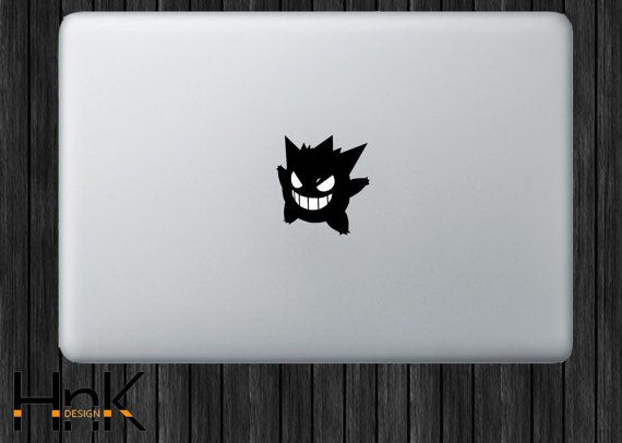 Macbook decal macbook vinyl decal macbook sticker by hnkdesign