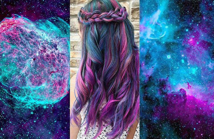 O universo é a inspiração dessa nova tendência para os cabelos