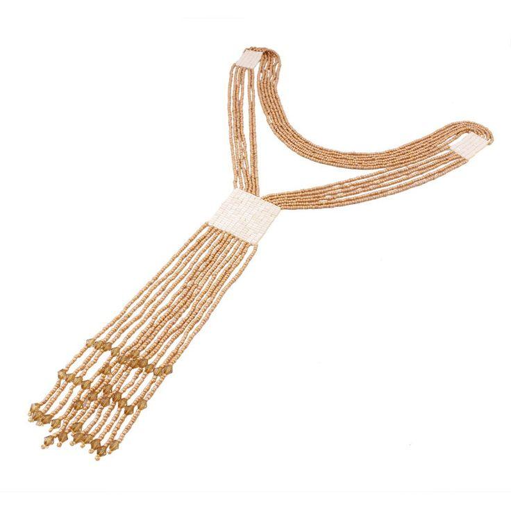 Нью колье длинные ожерелья мода ожерелье бусины кисточкой кулон себе макси ювелирные изделия пяти цветов для женщин оптовая продажа N32441купить в магазине Fashion Max NO.1наAliExpress