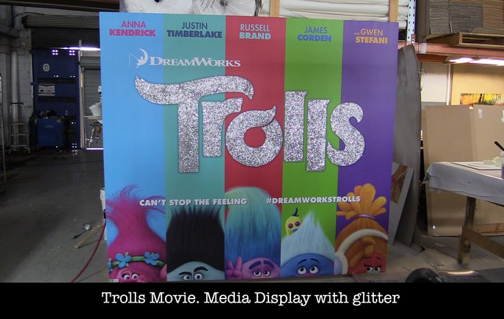 Trolls Movie media display | The Canvas Art Factory