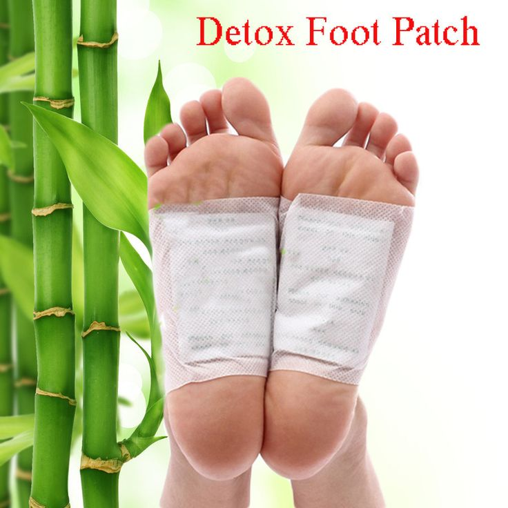 120 Pcs Detox Foot Pads Herbal Cleansing Bamboo Patch