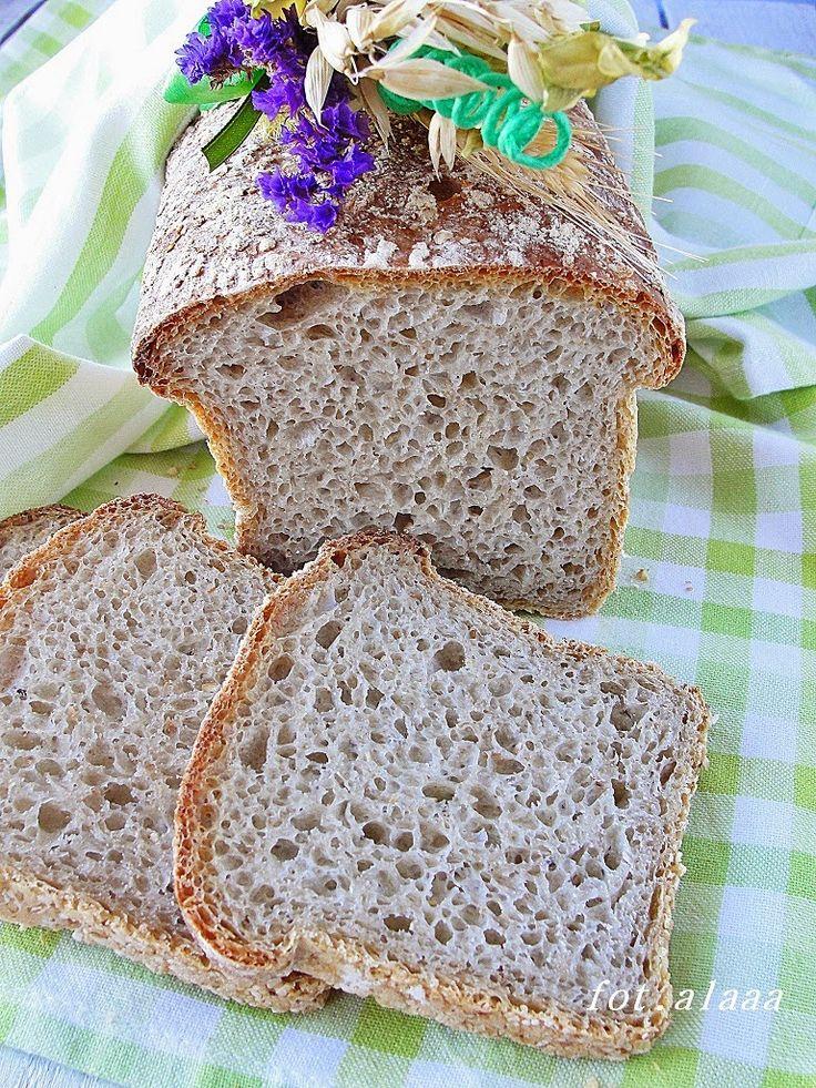 Ala piecze i gotuje: Chleb pszenny na zakwasie