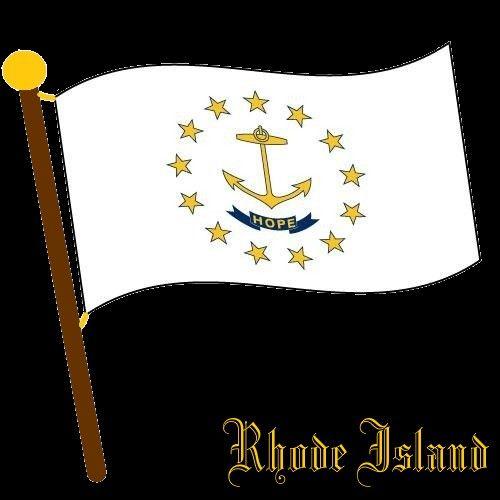 Flaggen / Flags - Rhode Island - Vereinigte Staaten von Amerika / United States of America / USA