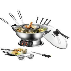 UNOLD - Appareil à fondue chinoise 48746 - inox - Achat / Vente fondue électrique - Cdiscount