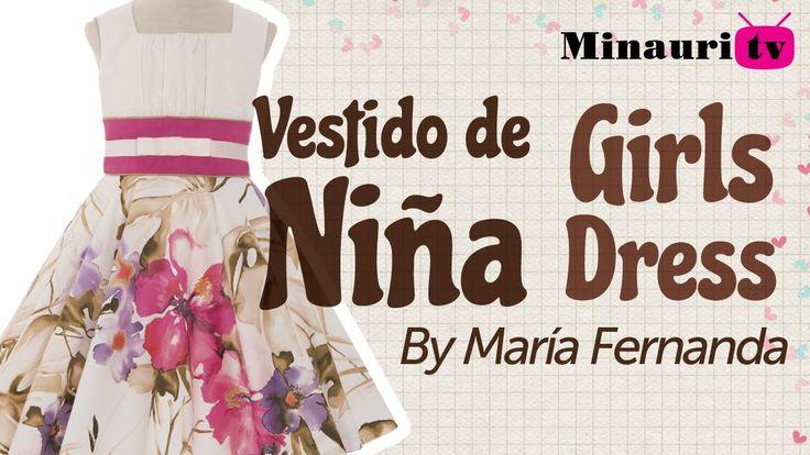 Girl Dress - Vestido Niña (MR17)  - Vestito Bambina - Robe Fille - Mädch...