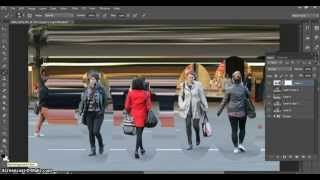 This tutorial shows students the steps involved in creating a Daniel Crooks inspired street photograph...