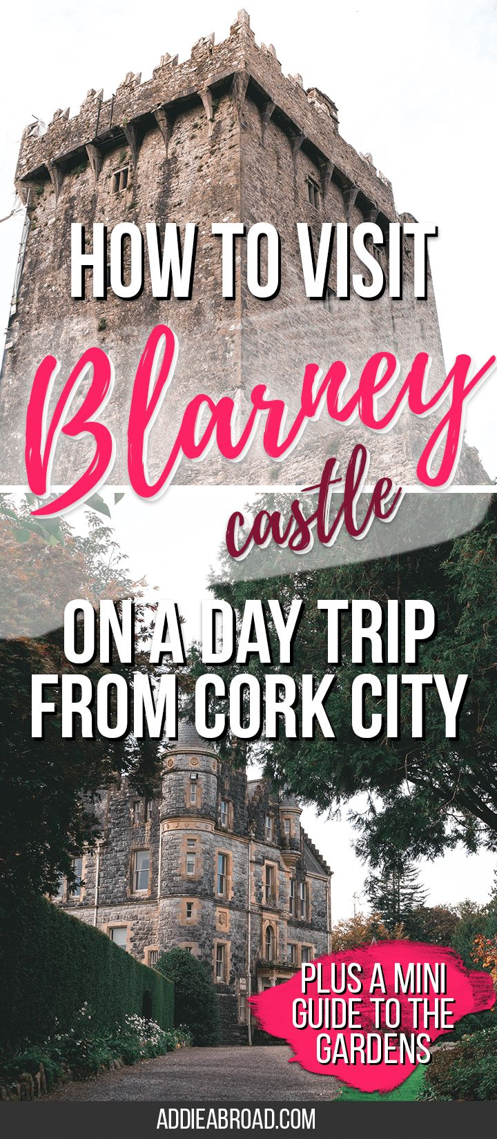 Have you always wanted to kiss the Blarney Stone? Here's a mini guide on how to day trip to Blarney Castle from Cork City, Ireland.