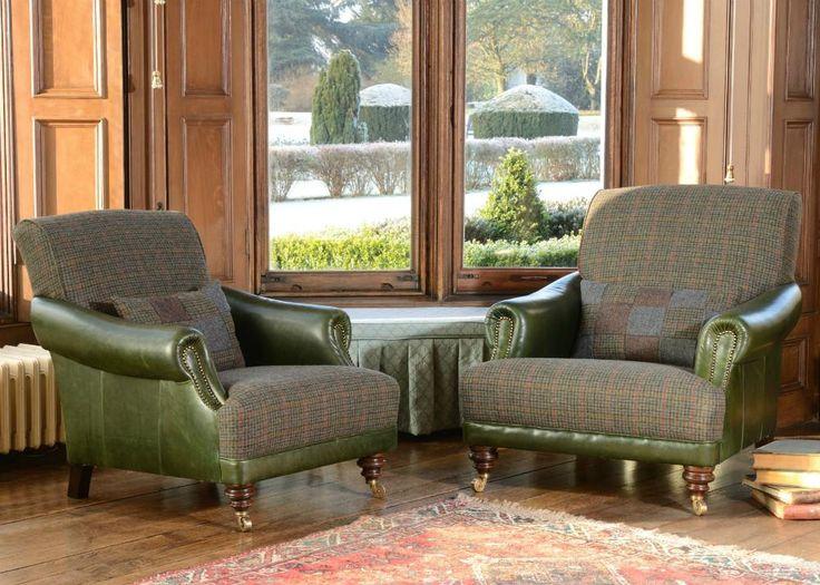 Tetrad Harris Tweed Taransay Sofa Collection   Dogtooth From George  Tannahill U0026 Sons