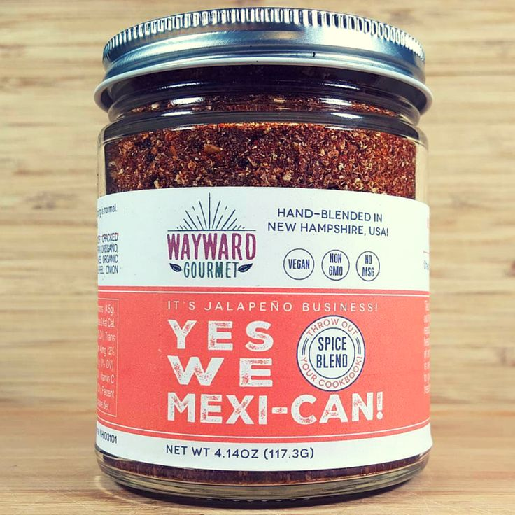 "Taco night, meet your new BFF! Throw out that ugly packet of ""seasoning"" and replace it with a hefty handful of our hearty blend! We've combined the smoky spiciness of high quality chipotle pepper and cumin with a hint of lime. It's awesome for any dish you're looking to give the south-of-the-border treatment!"" You can also rub directly onto something like a skirt or flank steak before throwing on the grill or spice up some chicken for fajitas. Sombrero not included."