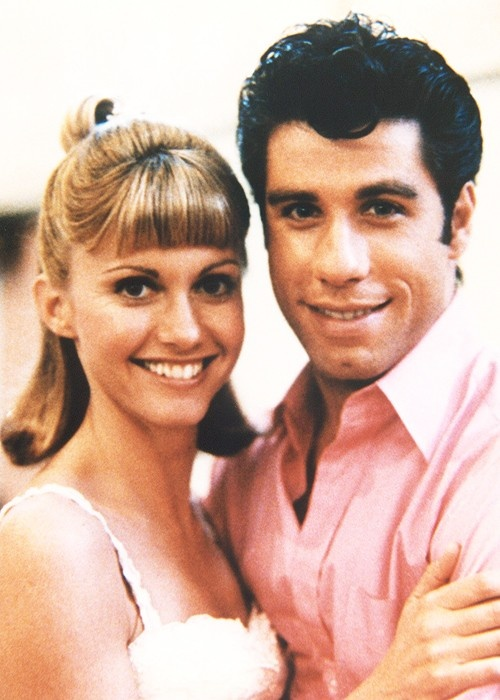 Grease.Danny and Sandy.