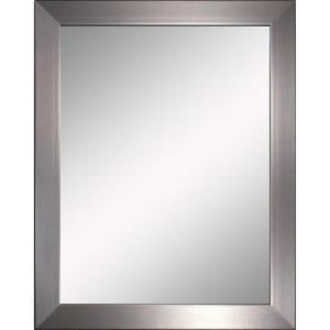 brushed nickel bathroom mirror. Deco Mirror Modern 26 in  x 32 Brushed Nickel Brush Best 25 nickel mirror ideas on Pinterest