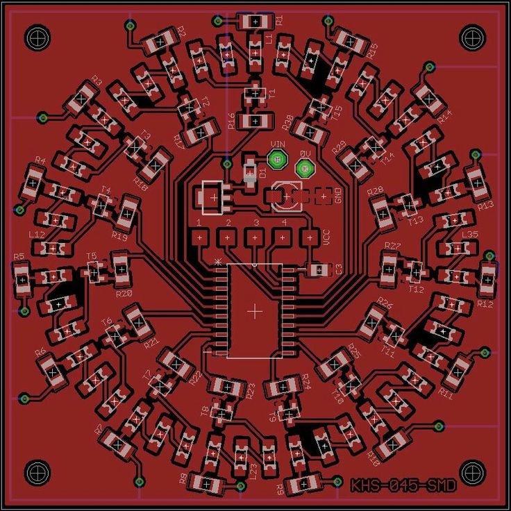 PCB Design using Cadsoft Eagle..