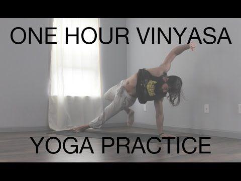 1 Hour Vinyasa Yoga Practice! | Yoga with Patrick Beach
