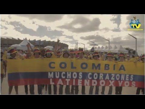 Colombia VS Grecia  #HechoEnLAPOST para Aguila .TV: http://bit.ly/1py76H4