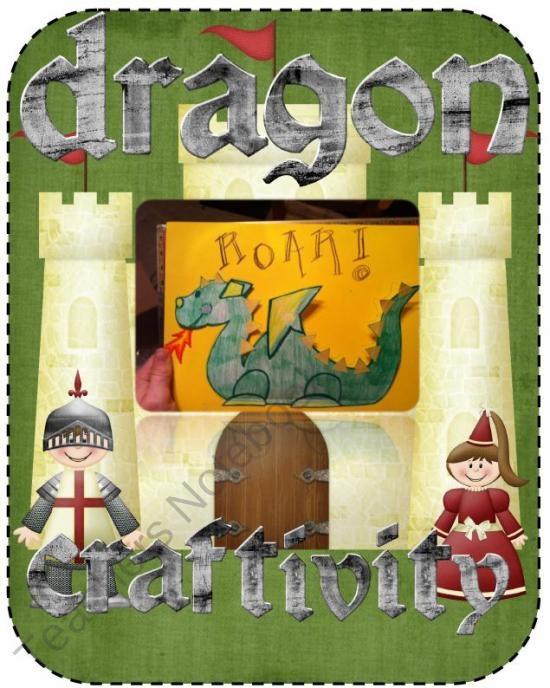 Dragon Craftivity FREEBIE from TeacherGoneHomeschool on TeachersNotebook.com (7 pages)