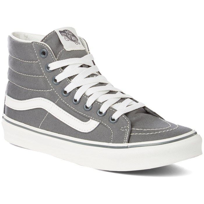 The Vans SK8 Hi Slim are the perfect skate shoe. Protect your ankles from  getting