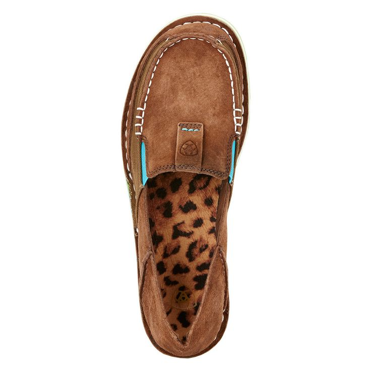 Ariat Women's Cruiser Palm Brown Slip-On 10017457
