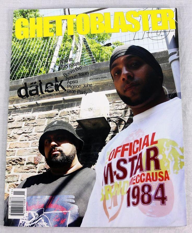 Ghettoblaster Music Magazine July 2003 Dalek Bloc Party Pigeon John Boom Bip OOP