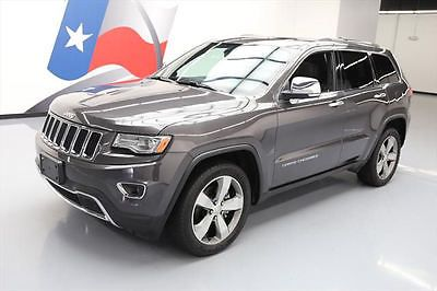 eBay: 2014 Jeep Grand Cherokee 2014 JEEP GRAND CHEROKEE LTD PANO ROOF NAV REAR CAM 48K #442166 Texas Direct #jeep #jeeplife