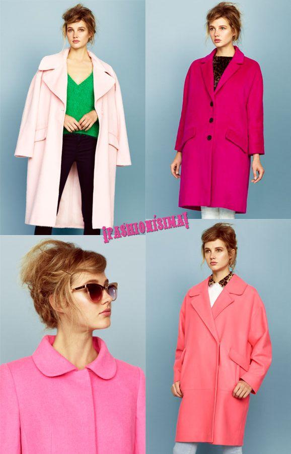 #fall13 trends: abrigo de color rosa