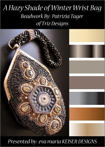 Colorway:  Triz Designs  WEBSITE:  http://www.trizdesigns.com/