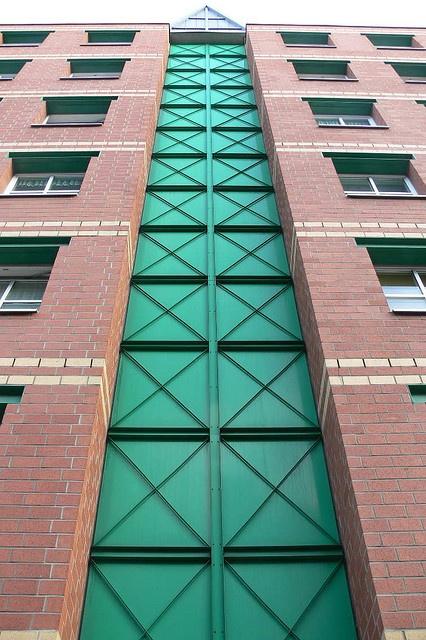 Aldo Rossi facade detail
