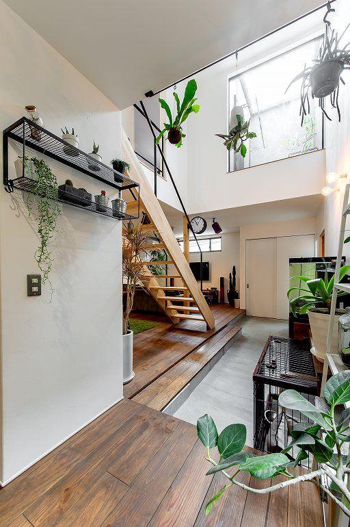 自分スタイルでつくるグリーンに囲まれたお家