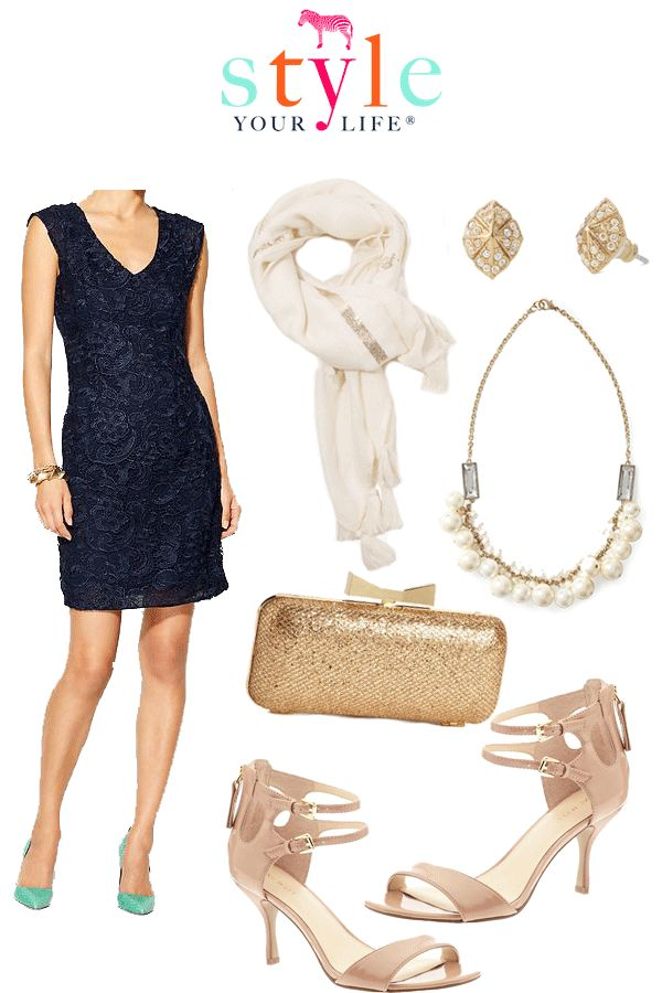 Virtual Outfit: Class Reunion CC can get you those darling Stella and Dot earrings.