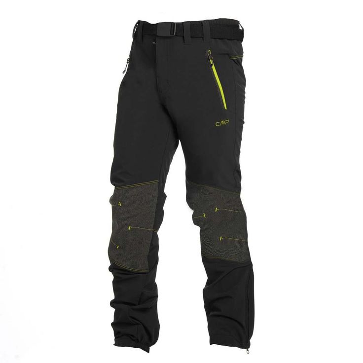 Cmp Stretch Long Pants Antracite / Apple Boys