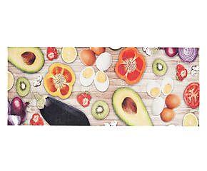 Passatoia da cucina in tessuto misto Food - 60x220 cm