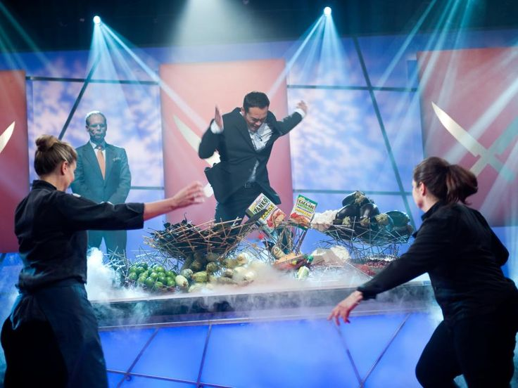 Get an inside look at the rival chefs' challenges and relive the most-memorable moments from the finale of Food Network's The Next Iron Chef: Redemption.