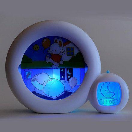 Veilleuse reveil Kid sleep Moon avec indicateur de reveil