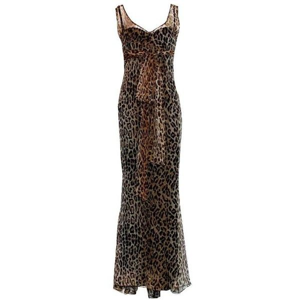 Preowned Stunning Dolce & Gabbana Corset Leopard Cheetah Print Silk... (38,695 INR) ❤ liked on Polyvore featuring dresses, gowns, black, evening dresses, cheetah print dress, corset style dress, silk evening dresses, silk gown and corset ball gown