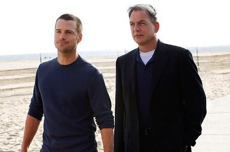 Gibbs with G. Callen of NCIS Los Angeles