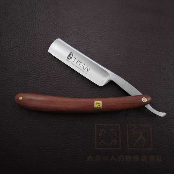 free shipping Handle razor   hand made wooden handle RAZOR straight razor
