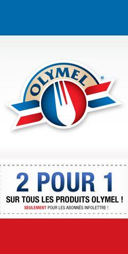 Coupon 2 pour 1 d'Olymel. Fin le 9 avril.  http://rienquedugratuit.ca/coupons/coupon-2-pour-1-dolymel/