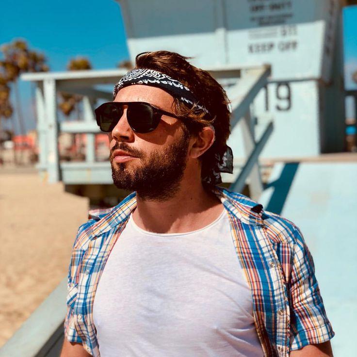 ast day baby ! #holidays #losangeles #venicebeach #california #instaboy #barber #bandana #vamosalaplaya #frenchboy #chill #goodvibes